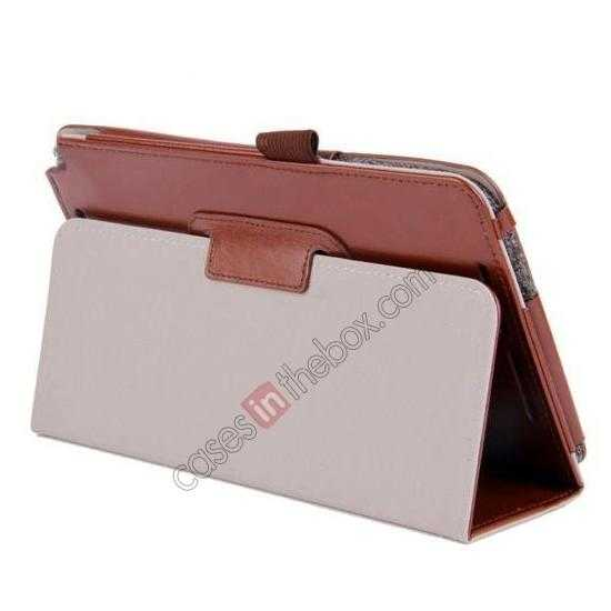 high quanlity Crazy Horse Pattern Leather Stand Case Cover for ASUS VivoTab Note8 M80TA