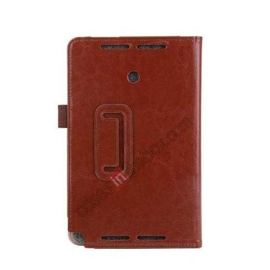 China leading wholesale Crazy Horse Pattern Leather Stand Case Cover for ASUS VivoTab Note8 M80TA