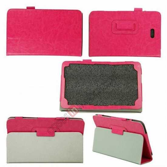 cheap Crazy Horse Pattern Leather Stand Case Cover for Dell Venue 8 Pro Windows 8.1
