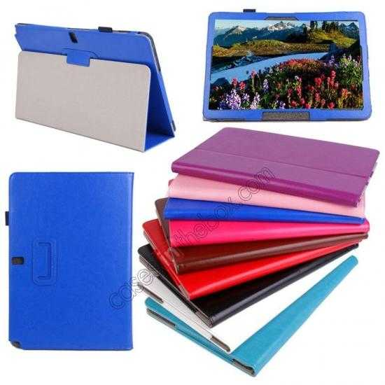 wholesale Crazy Horse Pattern Leather Stand Case Cover for Samsung Galaxy Tab Pro 12.2 P900