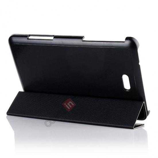 discount Crazy Horse Texture Leather Stand Case Cover For Dell Venue 8 Pro Windows 8.1 - Black