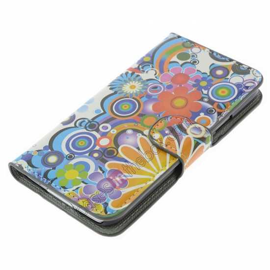 top quality Fantasy Pattern Wallet Style Stand Leather Case For Samsung Galaxy S5