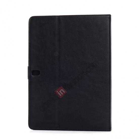 on sale Fashion New Folio Leather Flip Protective Case For Samsung Galaxy Tab Pro 12.2 P900 - Black