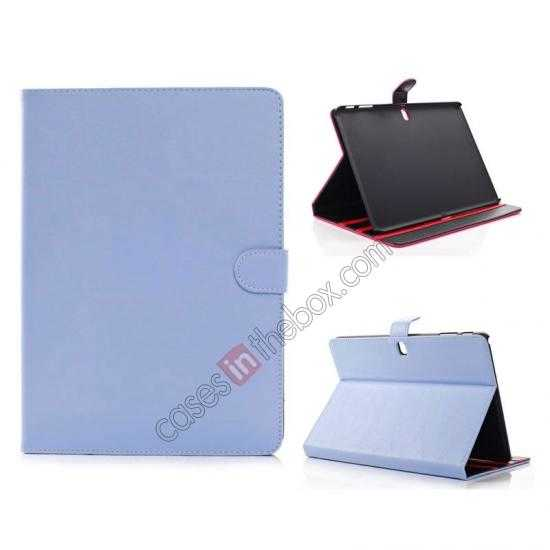 wholesale Fashion New Folio Leather Flip Protective Case For Samsung Galaxy Tab Pro 12.2 P900 - Blue