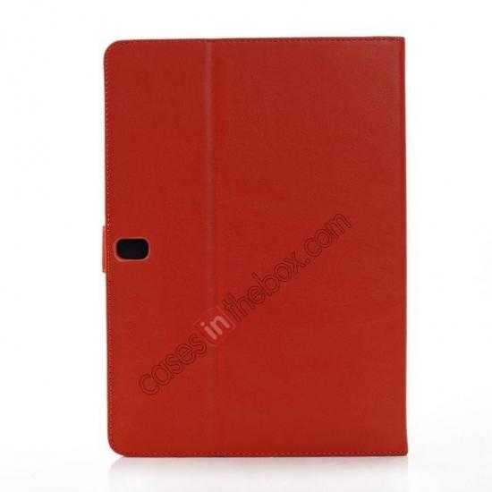 cheap Fashion New Folio Leather Flip Protective Case For Samsung Galaxy Tab Pro 12.2 P900 - Orange