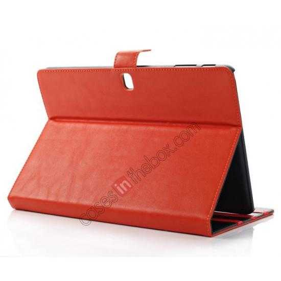 top quality Fashion New Folio Leather Flip Protective Case For Samsung Galaxy Tab Pro 12.2 P900 - Orange