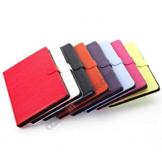 low price Fashion New Folio Leather Flip Protective Case For Samsung Galaxy Tab Pro 12.2 P900 - Orange