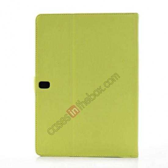 cheap Fashion New Folio Leather Flip Protective Case For Samsung Galaxy Tab Pro 12.2 P900 - Green