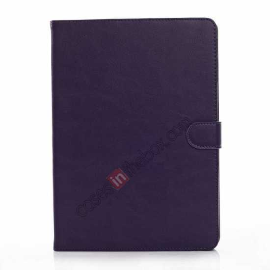 discount Fashion New Folio Leather Flip Protective Case For Samsung Galaxy Tab Pro 12.2 P900 - Purple