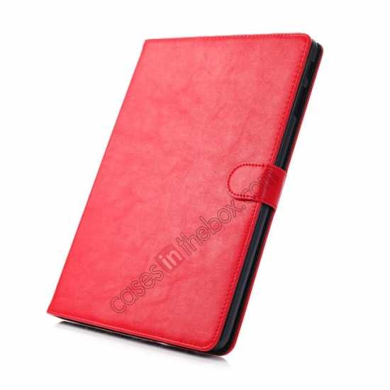 discount Fashion New Folio Leather Flip Protective Case For Samsung Galaxy Tab Pro 12.2 P900 - Red