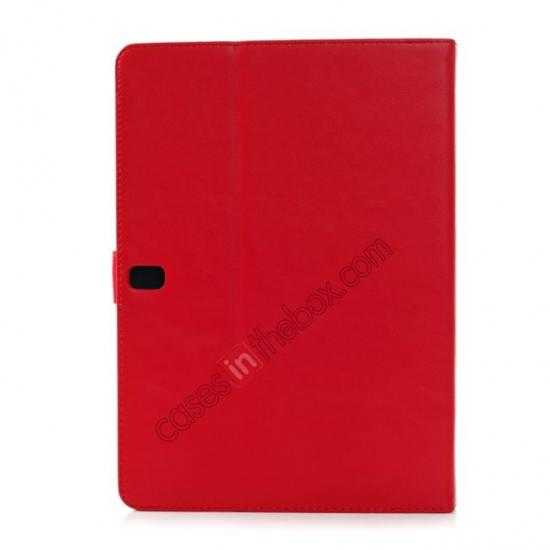 on sale Fashion New Folio Leather Flip Protective Case For Samsung Galaxy Tab Pro 12.2 P900 - Red