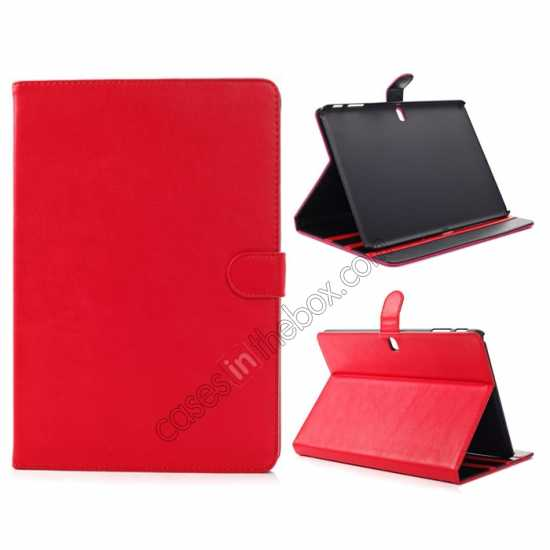 wholesale Fashion New Folio Leather Flip Protective Case For Samsung Galaxy Tab Pro 12.2 P900 - Red