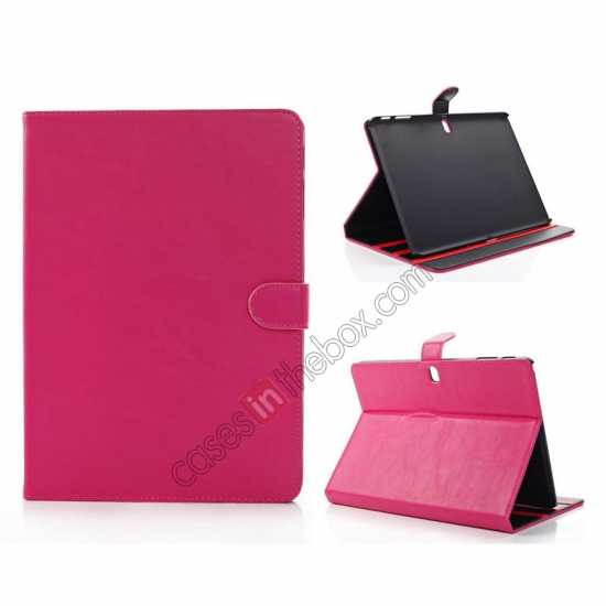 wholesale Fashion New Folio Leather Flip Protective Case For Samsung Galaxy Tab Pro 12.2 P900 - Rose