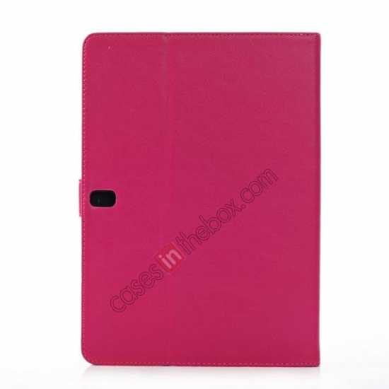 cheap Fashion New Folio Leather Flip Protective Case For Samsung Galaxy Tab Pro 12.2 P900 - Rose