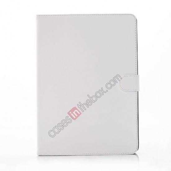 top quality Fashion New Folio Leather Flip Protective Case For Samsung Galaxy Tab Pro 12.2 P900 - White