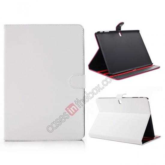 wholesale Fashion New Folio Leather Flip Protective Case For Samsung Galaxy Tab Pro 12.2 P900 - White