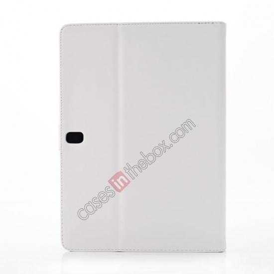 best price Fashion New Folio Leather Flip Protective Case For Samsung Galaxy Tab Pro 12.2 P900 - White