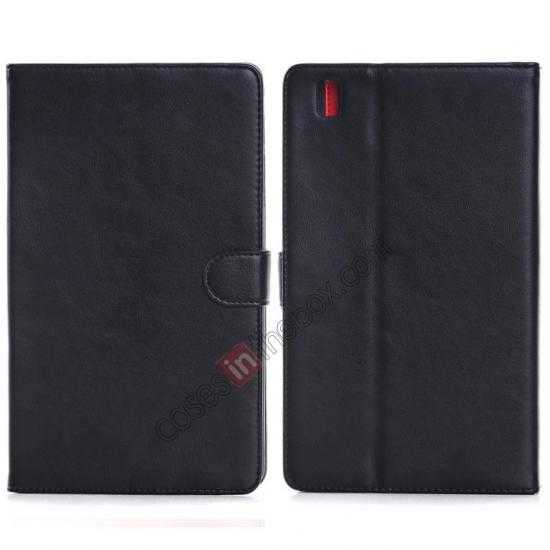 wholesale Fashion New Leather Stand Case for Samsung Galaxy Tab Pro 8.4 T320 - Black