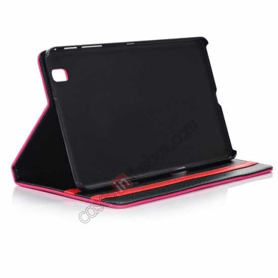 on sale Fashion New Leather Stand Case for Samsung Galaxy Tab Pro 8.4 T320 - Black