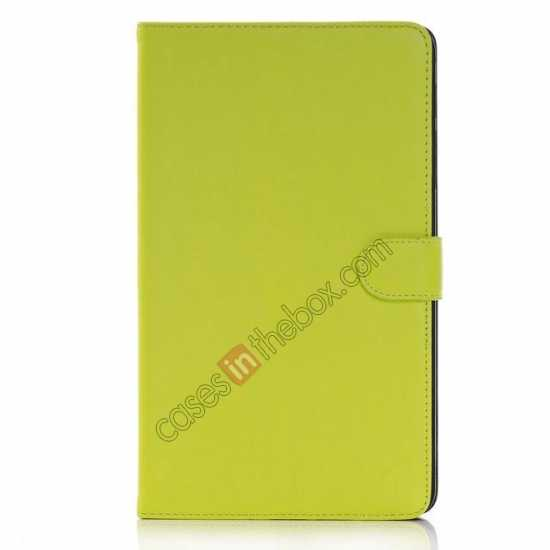 discount Fashion New Leather Stand Case for Samsung Galaxy Tab Pro 8.4 T320 - Green