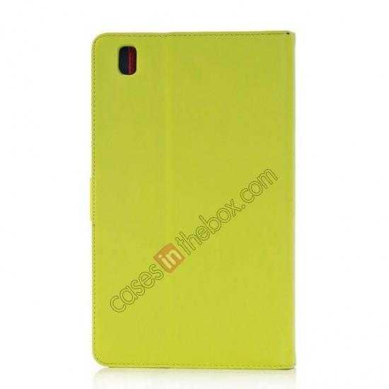 cheap Fashion New Leather Stand Case for Samsung Galaxy Tab Pro 8.4 T320 - Green