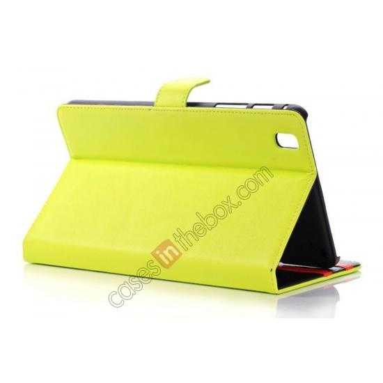 top quality Fashion New Leather Stand Case for Samsung Galaxy Tab Pro 8.4 T320 - Green