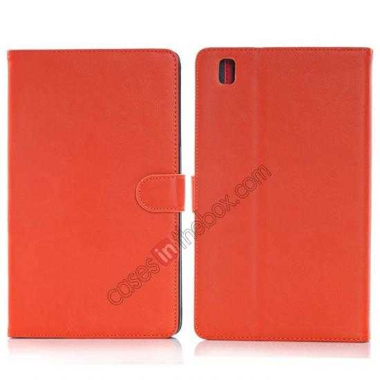 wholesale Fashion New Leather Stand Case for Samsung Galaxy Tab Pro 8.4 T320 - Orange