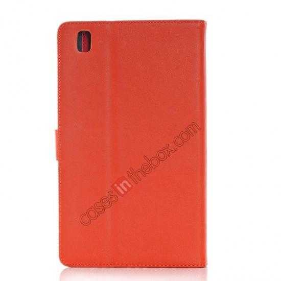 cheap Fashion New Leather Stand Case for Samsung Galaxy Tab Pro 8.4 T320 - Orange