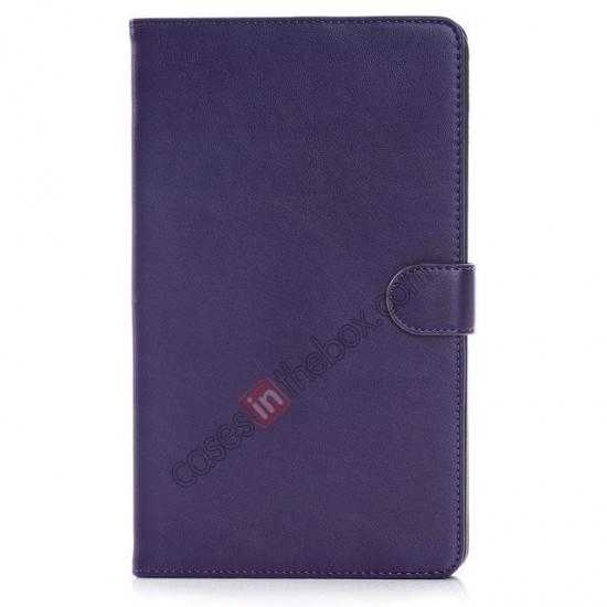 discount Fashion New Leather Stand Case for Samsung Galaxy Tab Pro 8.4 T320 - Purple
