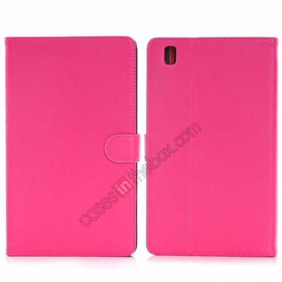 wholesale Fashion New Leather Stand Case for Samsung Galaxy Tab Pro 8.4 T320 - Rose