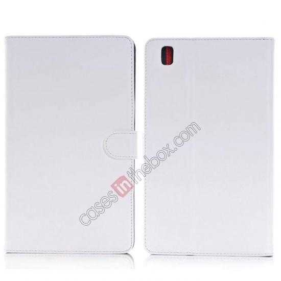 wholesale Fashion New Leather Stand Case for Samsung Galaxy Tab Pro 8.4 T320 - White