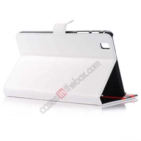 top quality Fashion New Leather Stand Case for Samsung Galaxy Tab Pro 8.4 T320 - White