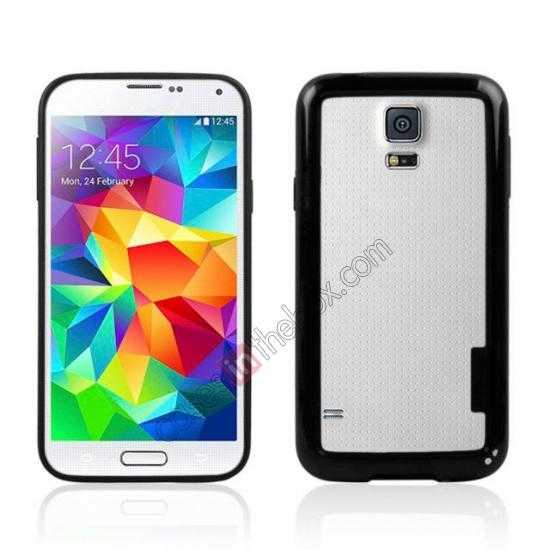 wholesale High Quality Bumper Case Skin Cover Frame Case For Samsung Galaxy S5 SV - Black