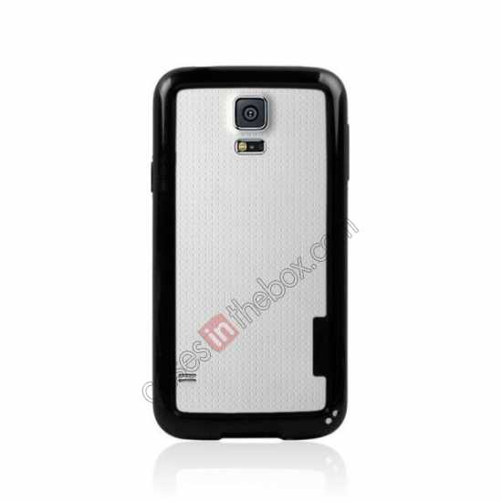 cheap High Quality Bumper Case Skin Cover Frame Case For Samsung Galaxy S5 SV - Black