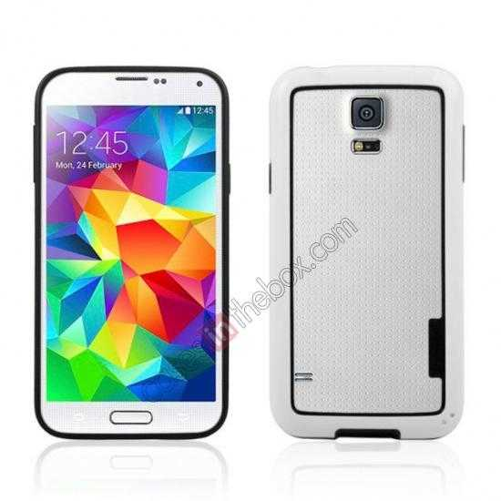 wholesale High Quality Bumper Case Skin Cover Frame Case For Samsung Galaxy S5 SV - White