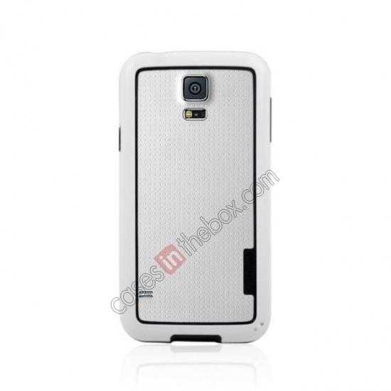 discount High Quality Bumper Case Skin Cover Frame Case For Samsung Galaxy S5 SV - White