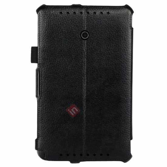 best price High quality Heat Setting Leather Stand Case for Asus Vivo Tab Note 8 M80TA - Black