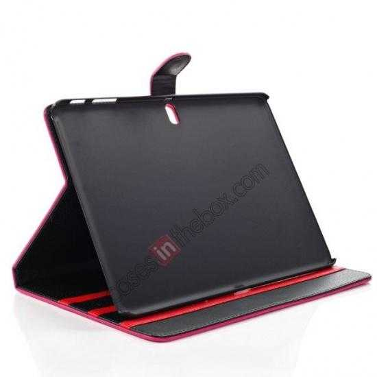 on sale High quality Leather Folio Stand Case for Samsung Galaxy Tab Pro 10.1 T520 - Black