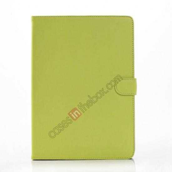 discount High quality Leather Folio Stand Case for Samsung Galaxy Tab Pro 10.1 T520 - Green