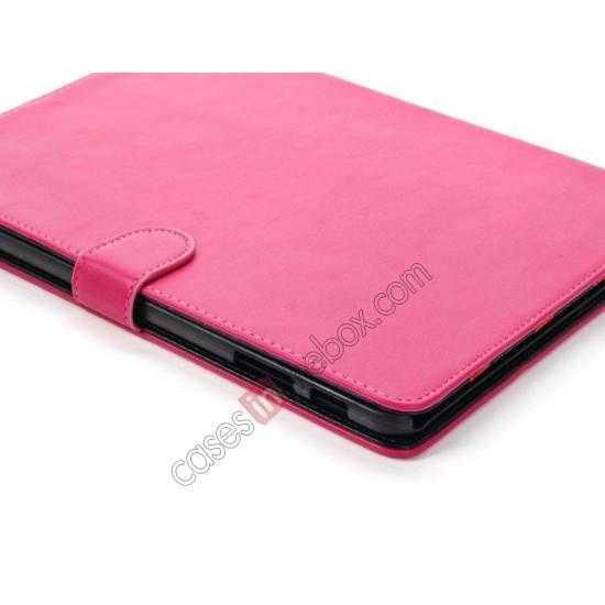 on sale High quality Leather Folio Stand Case for Samsung Galaxy Tab Pro 10.1 T520 - Rose