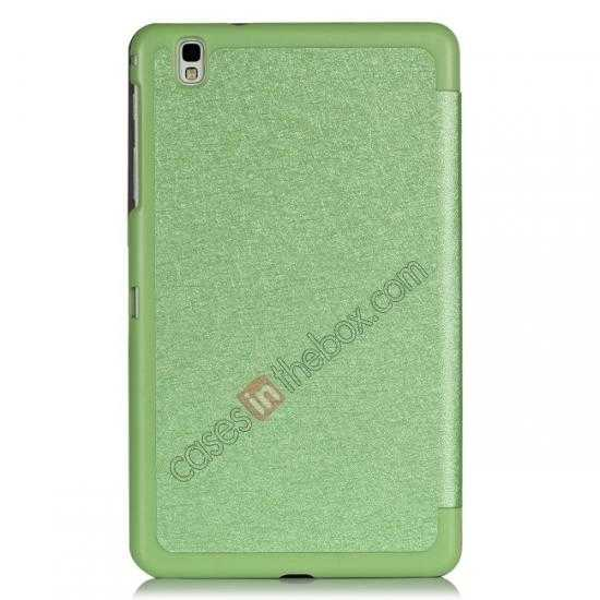 best price High quality Ultra Slim Tri Fold Leather Case Cover for Samsung Galaxy Tab Pro 8.4 T320 - Green