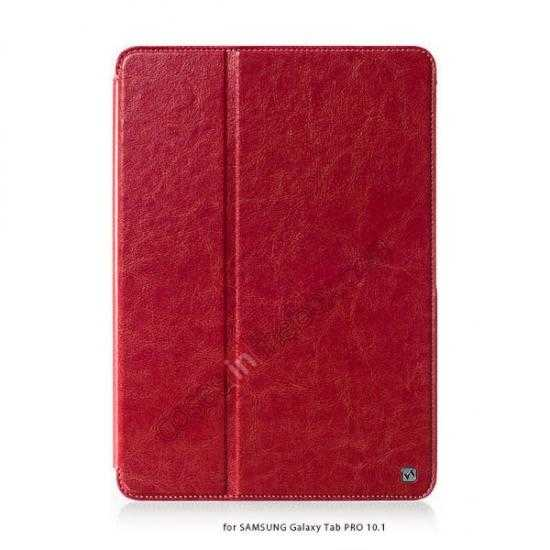 wholesale HOCO Retro Crystal Folder Leather Flip Case for Samsung Galaxy Tab Pro 10.1 T520 - Red