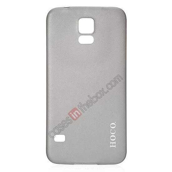 wholesale HOCO Thin Series Ultra Slim Plastic Protective Case for Samsung Galaxy S5 - Grey