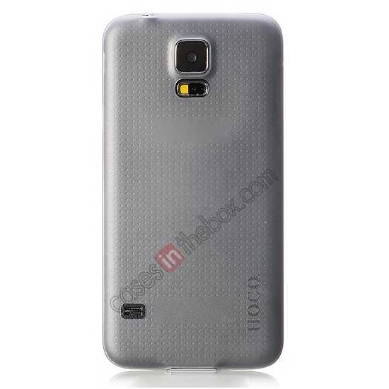 cheap HOCO Thin Series Ultra Slim Plastic Protective Case for Samsung Galaxy S5 - Grey