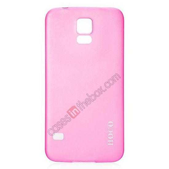 wholesale HOCO Thin Series Ultra Slim Plastic Protective Case for Samsung Galaxy S5 - Rose