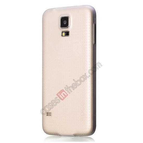 cheap HOCO Thin Series Ultra Slim Plastic Protective Case for Samsung Galaxy S5 - White