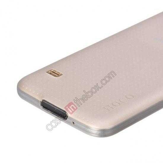 on sale HOCO Thin Series Ultra Slim Plastic Protective Case for Samsung Galaxy S5 - White