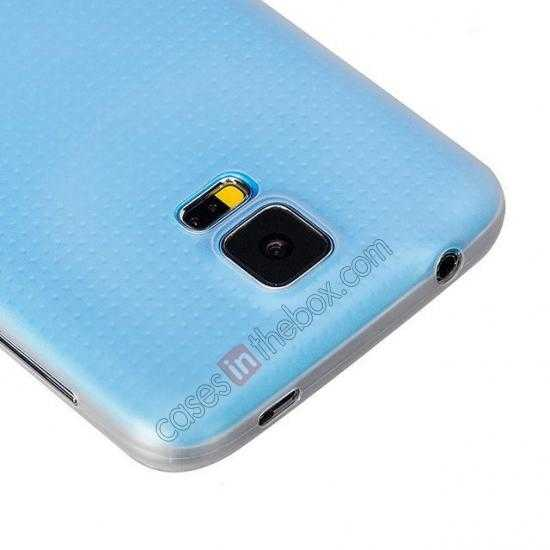 low price HOCO Thin Series Ultra Slim Plastic Protective Case for Samsung Galaxy S5 - White