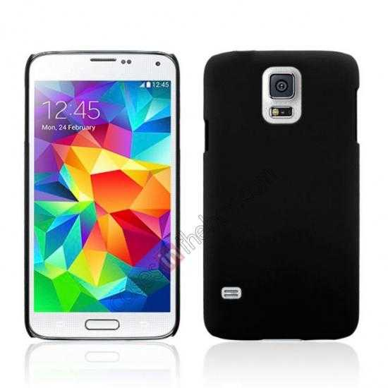 wholesale Hybrid Hard PC Case Cover For Samsung Galaxy S5 - Black