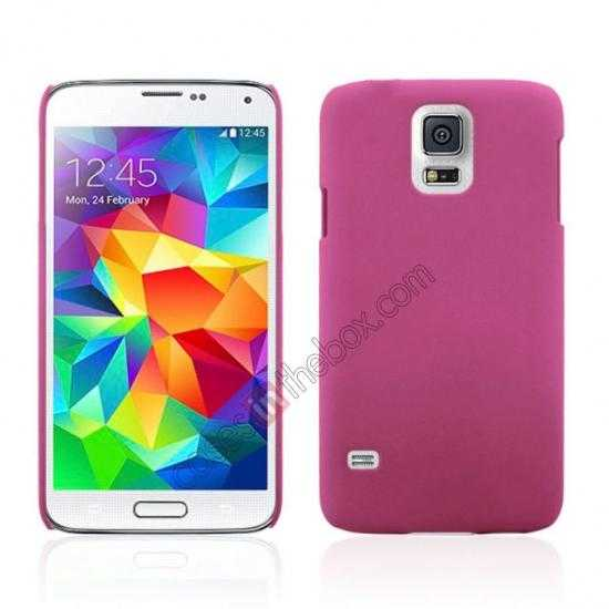 wholesale Hybrid Hard PC Case Cover For Samsung Galaxy S5 - Pink